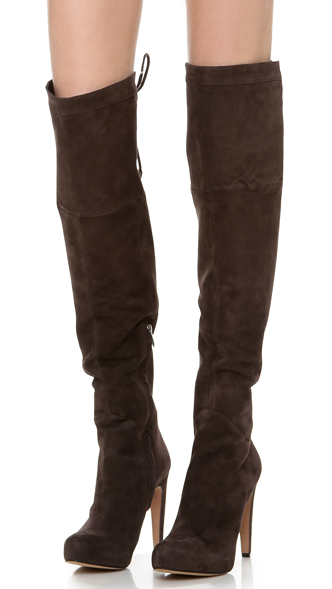 Sam edelman Kayla Over The Knee Boots in Brown | Lyst