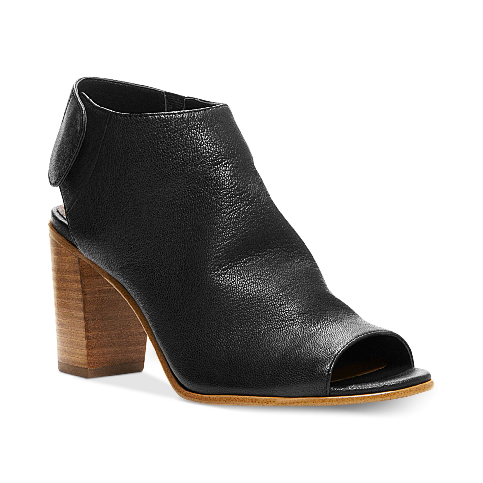 Steve Madden Womens Nonstop Booties in Black