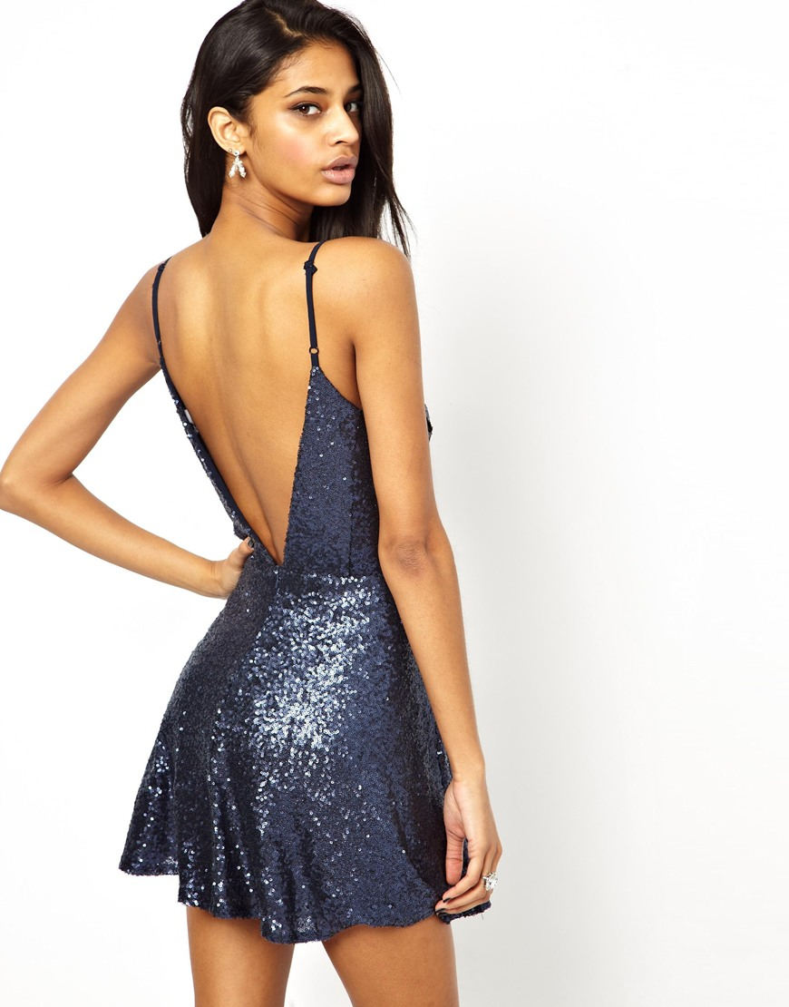 Low Back Cocktail Dress