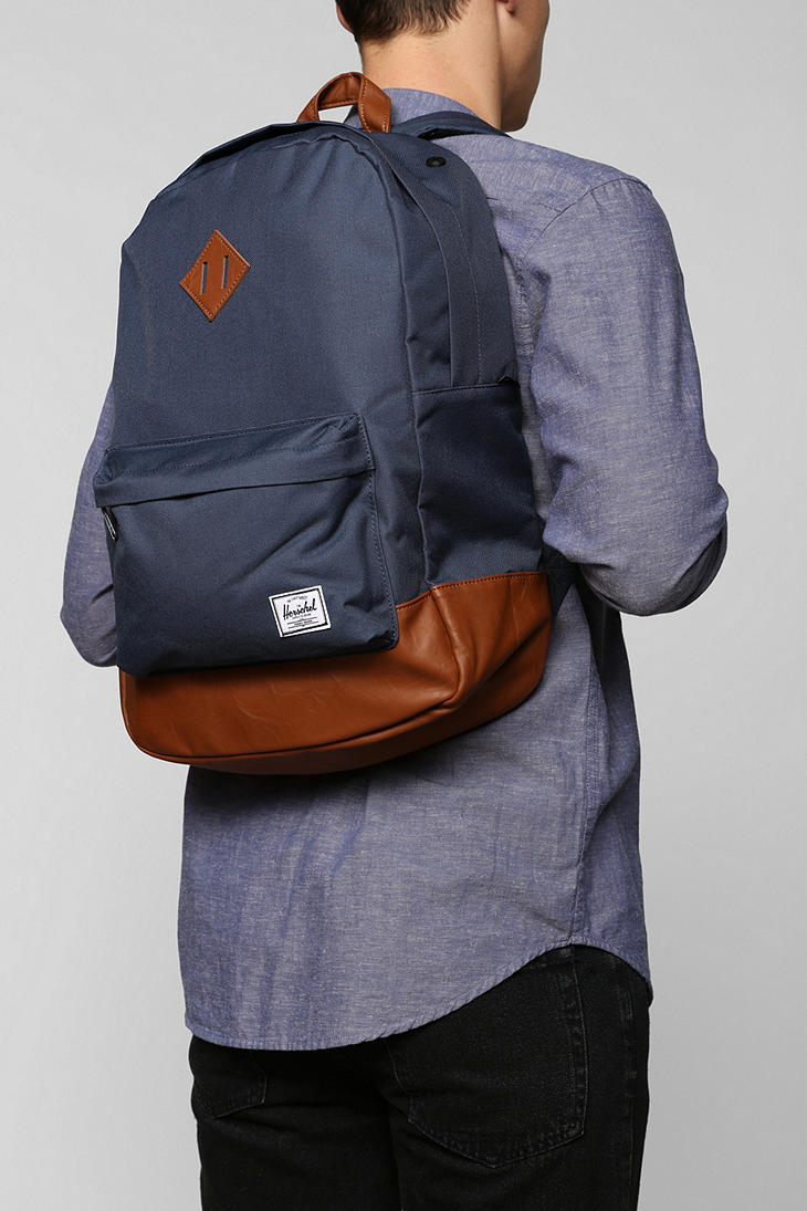 7b2ad60ee26e Heritage Classic Backpack Herschel Supply Co Source · Lyst Urban Outfitters Herschel  Heritage Backpack in Blue for Men