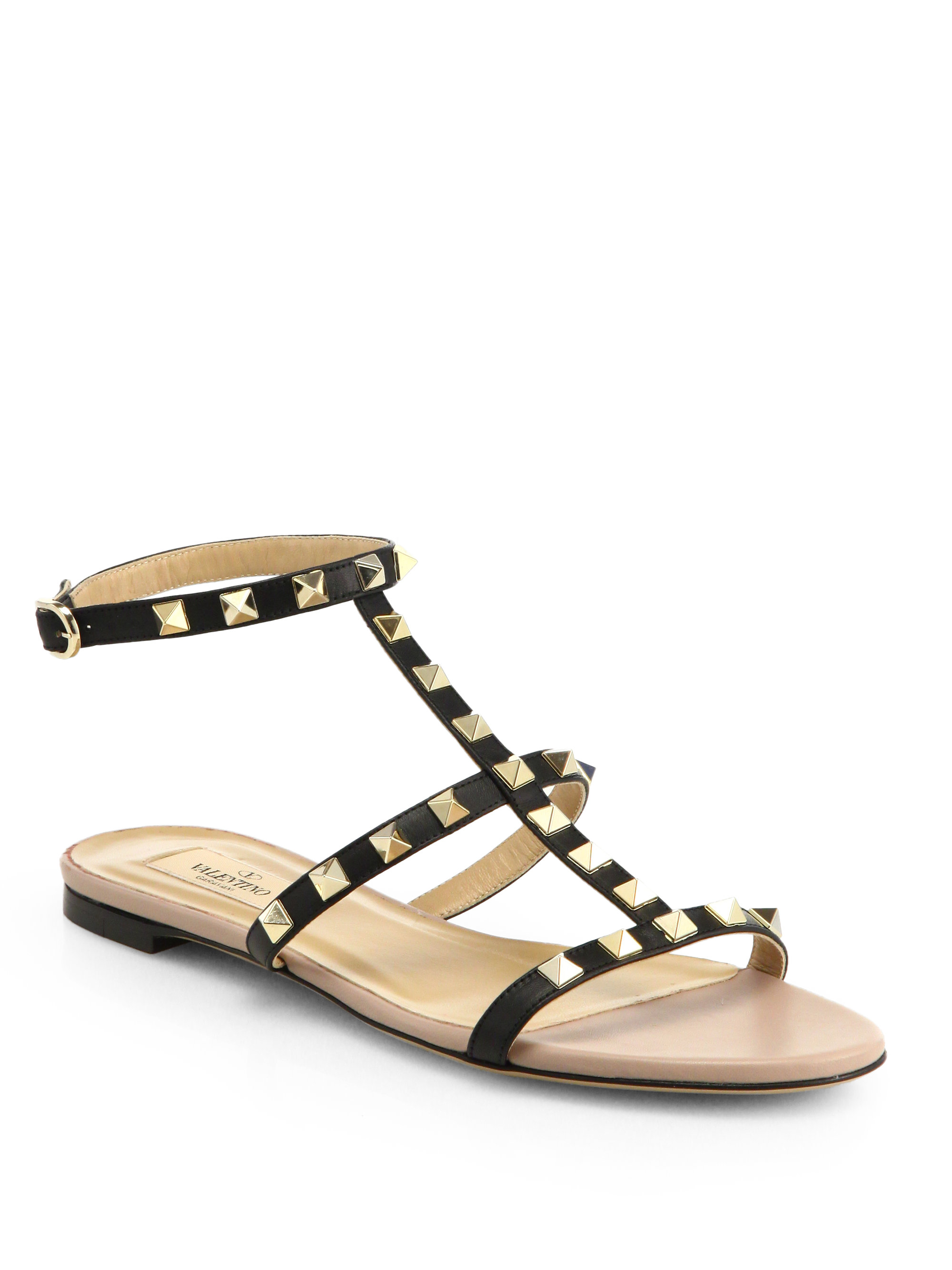 8627fb64f64 Gallery. Previously sold at  Saks Fifth Avenue · Women s Gladiator Sandals  Women s Valentino ...