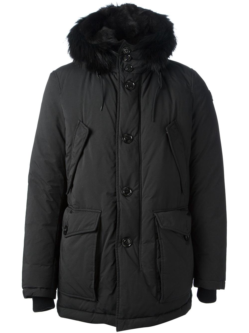 Moncler Chateaubriant Jacket in Black for Men