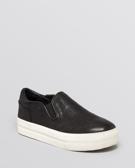ash slip on sneakers jungle in black lyst