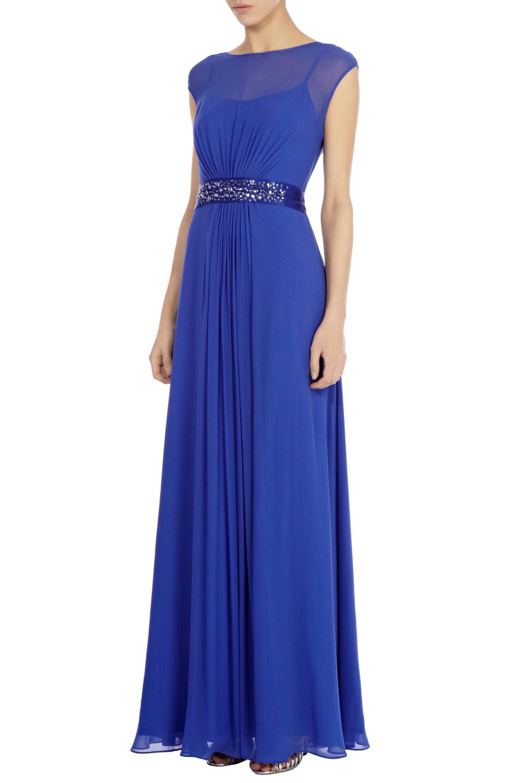Lyst Coast Lori Lee Maxi Dress In Blue
