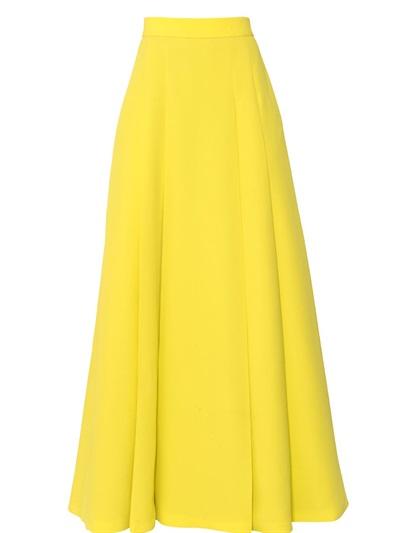 High Waisted Yellow Skirt 6
