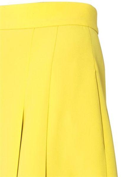 High Waisted Yellow Skirt 92