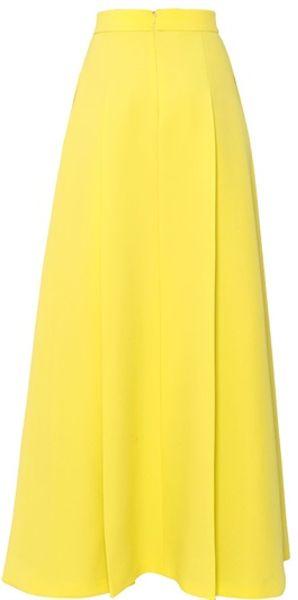 High Waisted Yellow Skirt 89