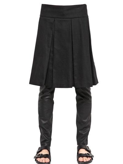 Lyst - Givenchy Cotton Gabardine Kilt in Black for Men 4c1d3559f0d0