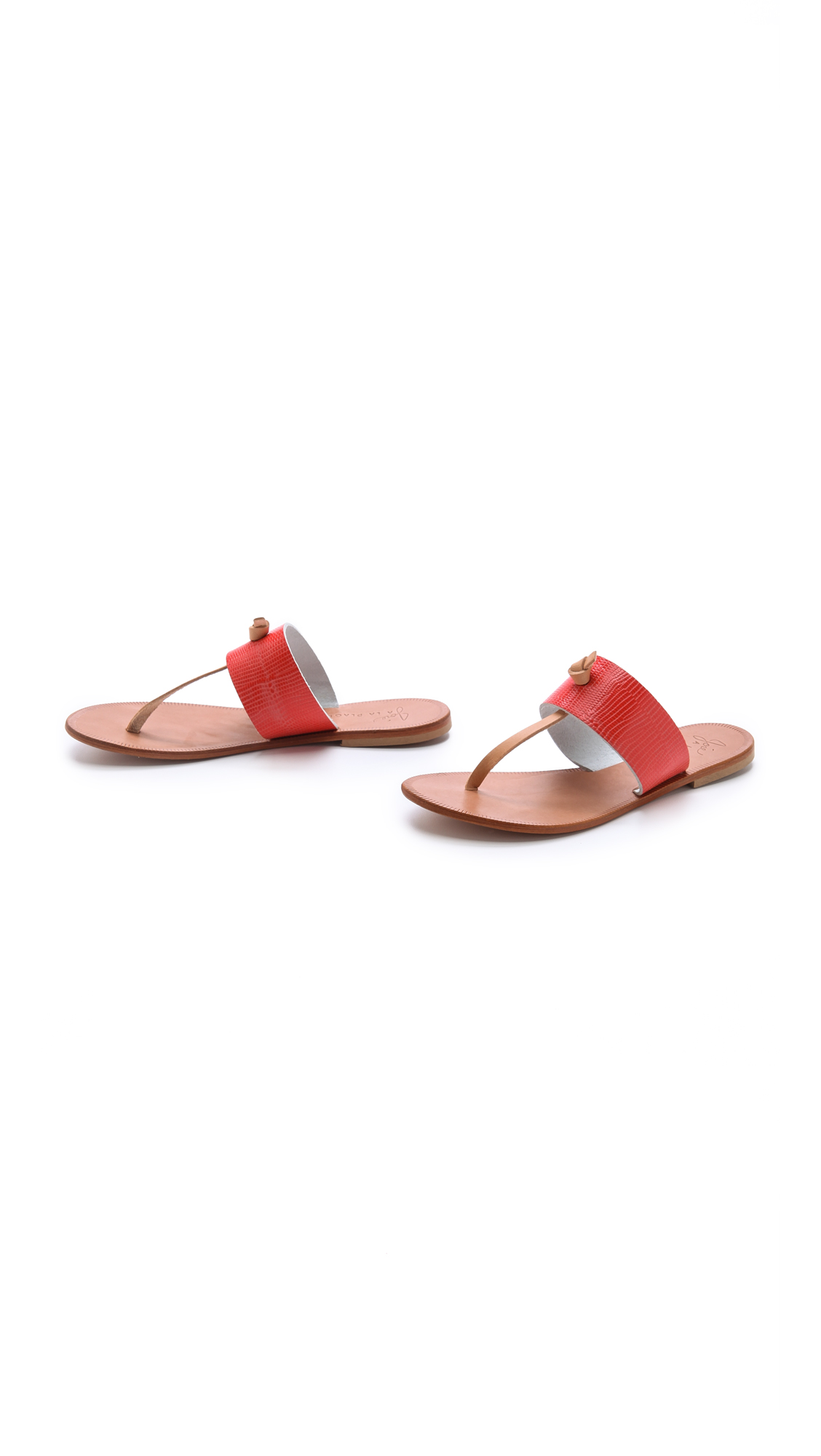 Joie A La Plage Nice Thong Sandals In Red Lyst