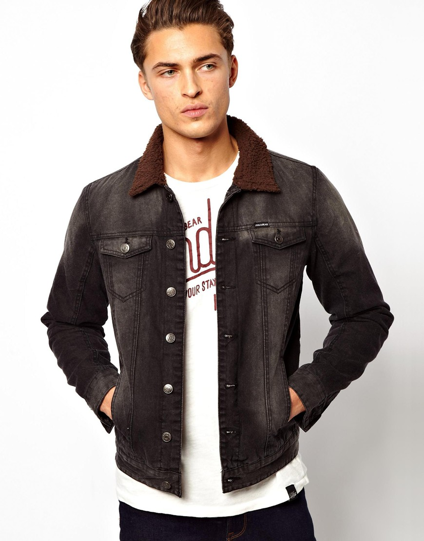 Grey Denim Jacket Men - JacketIn
