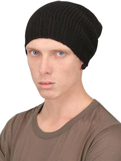 fine knit beanie - Black Rick Owens HGFPCC