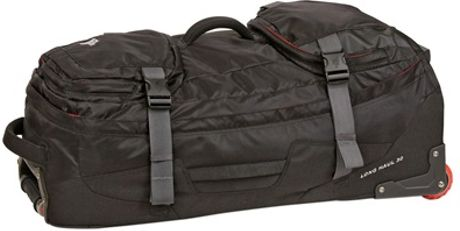 the north face 30 longhaul recycled nylon trolley in black for men lyst. Black Bedroom Furniture Sets. Home Design Ideas