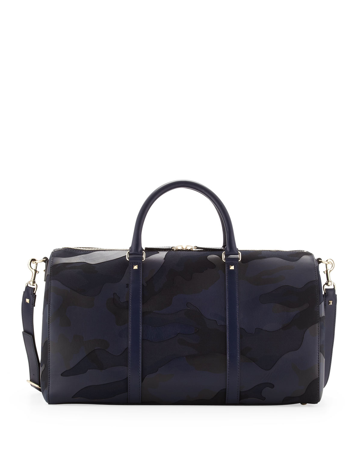 fb85c209b3 Lyst - Valentino Mens Camouflage Small Duffel Bag in Blue for Men