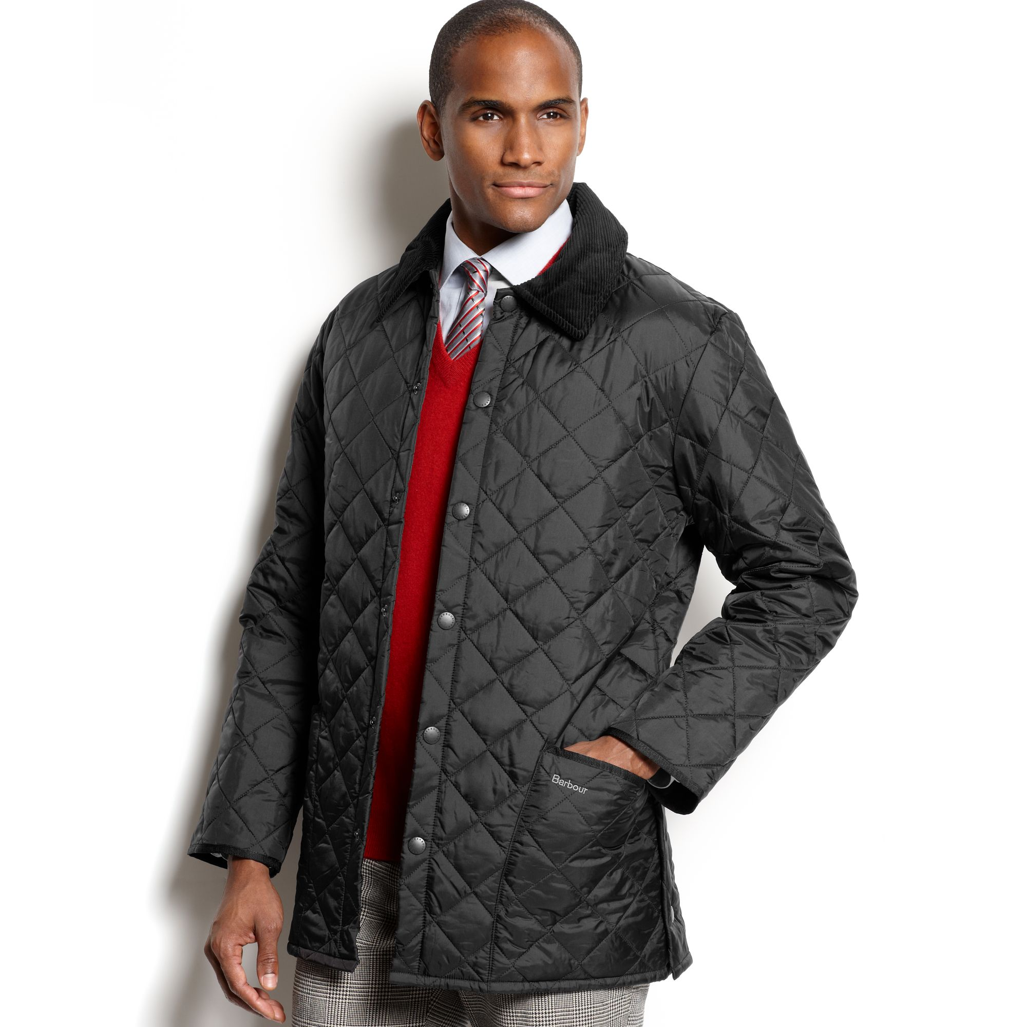 Lyst Barbour Liddesdale Quilted Jacket In Black For Men