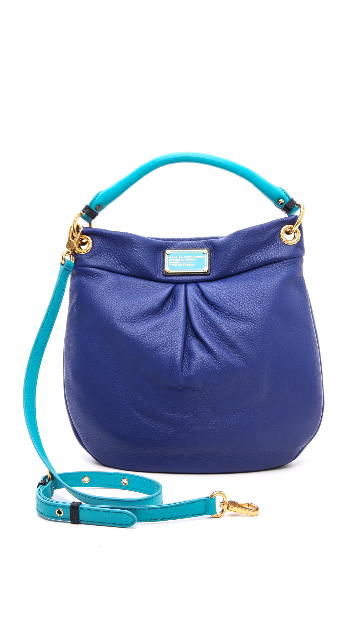 lyst marc by marc jacobs classic q colorblock hillier