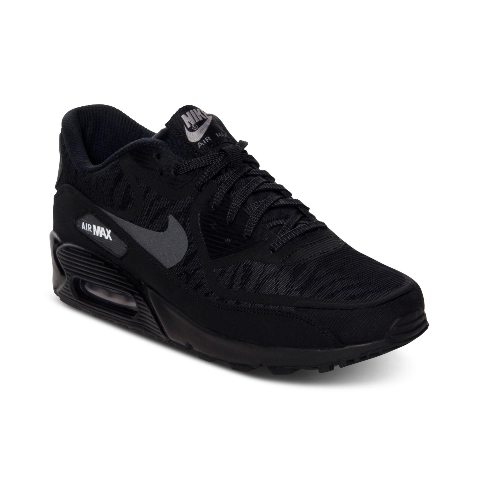 Nike Mens Air Max 90 Comfort Premium Tape Running Sneakers ...