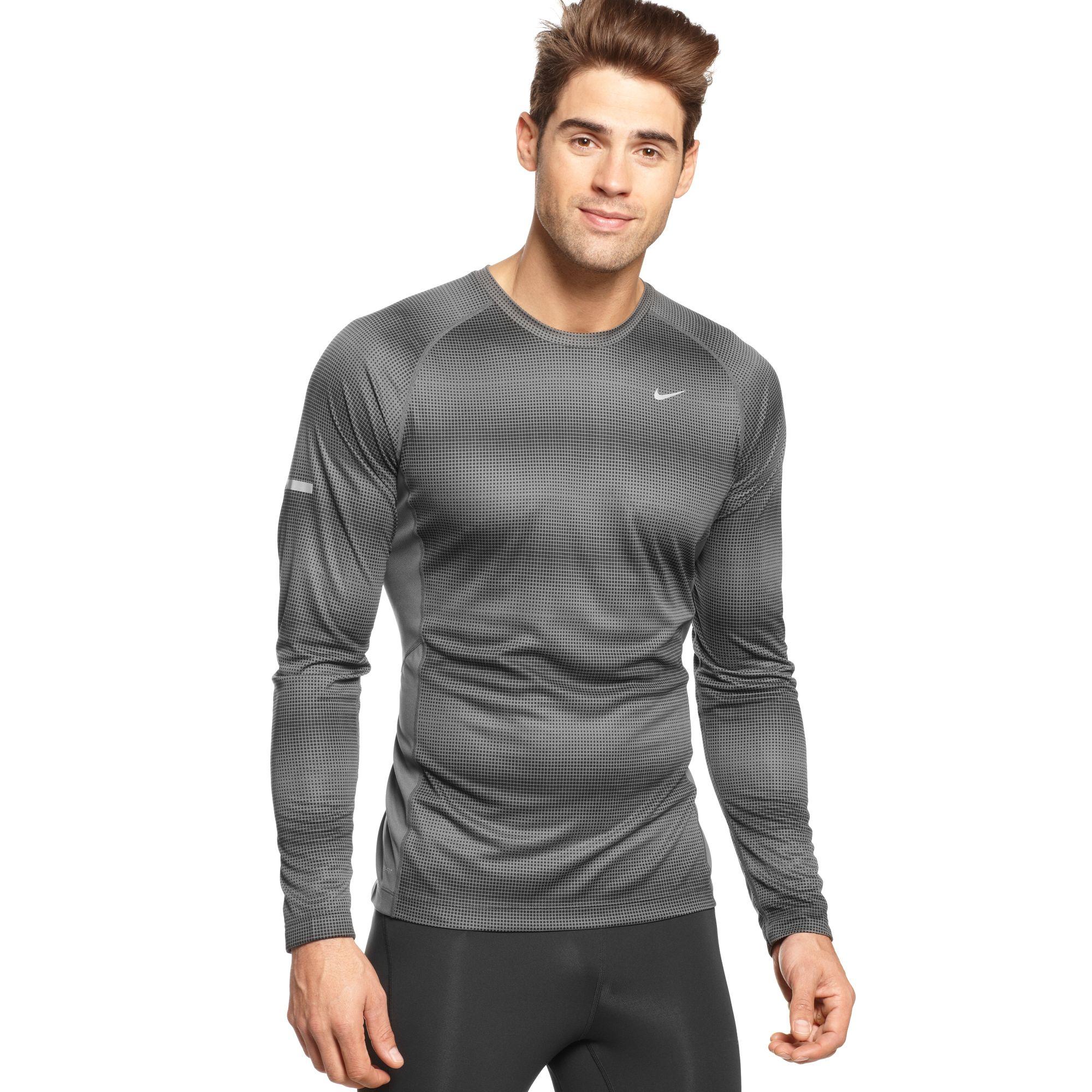 d632a488 Mens Nike Miler Running Shirt
