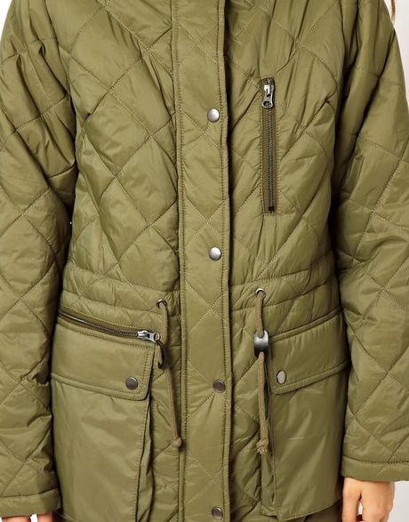 Borg Lined Parka Parka With Borg Lining in