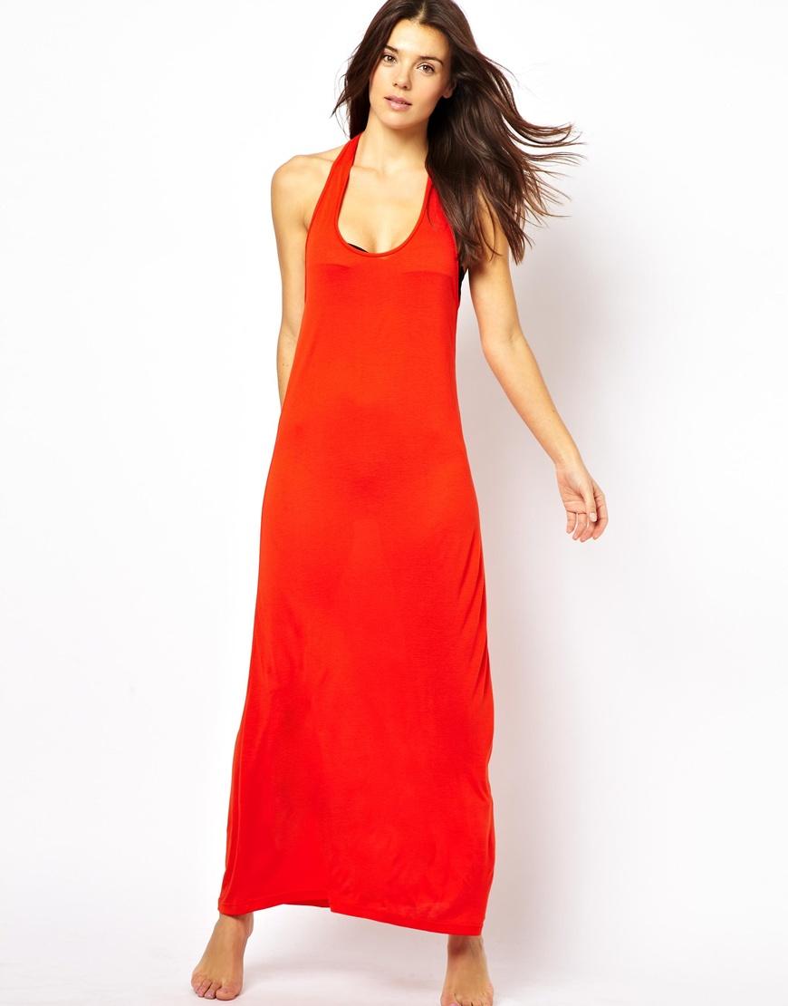 Beach Red Dresses