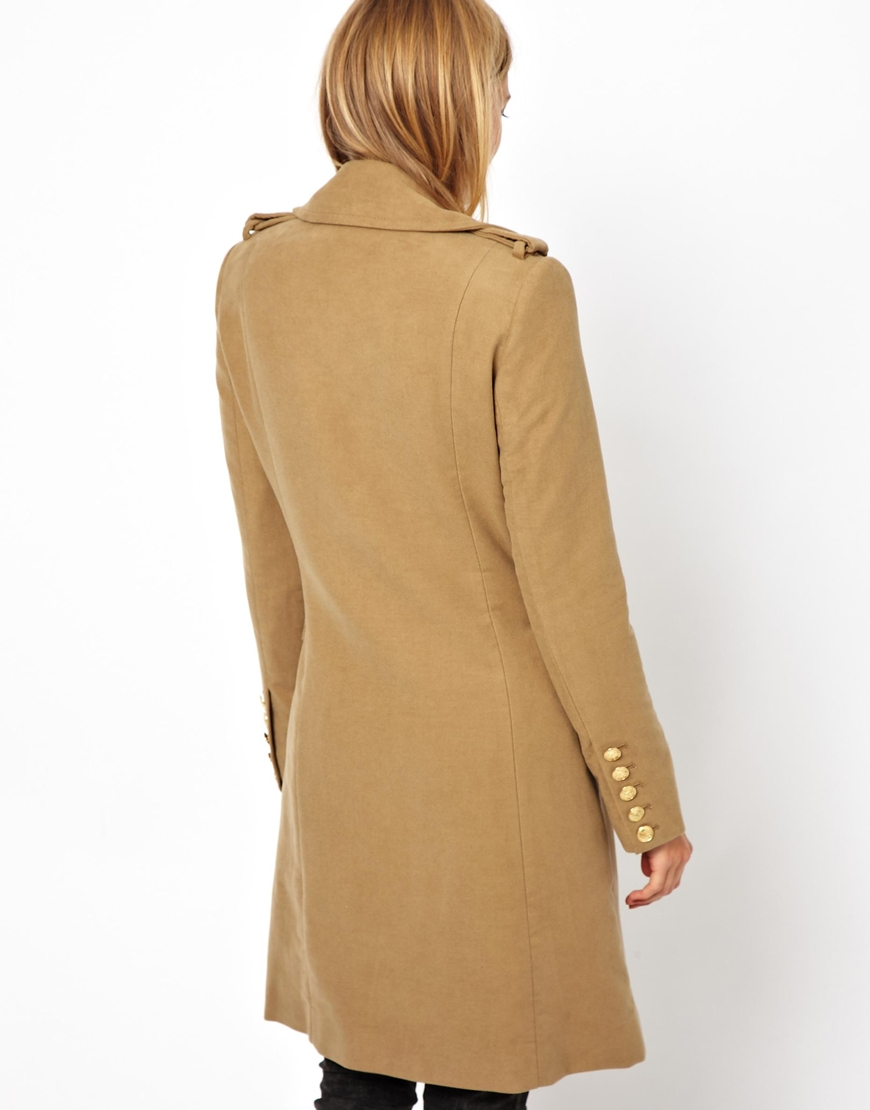 Mantel mango camel
