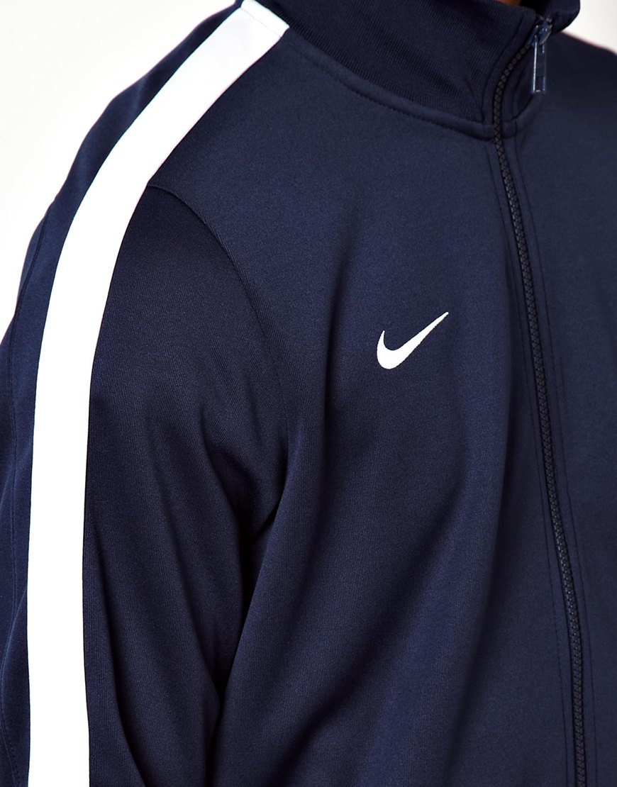 Lyst - Nike N98 Track Jacket in Blue for Men bdc9b89f3