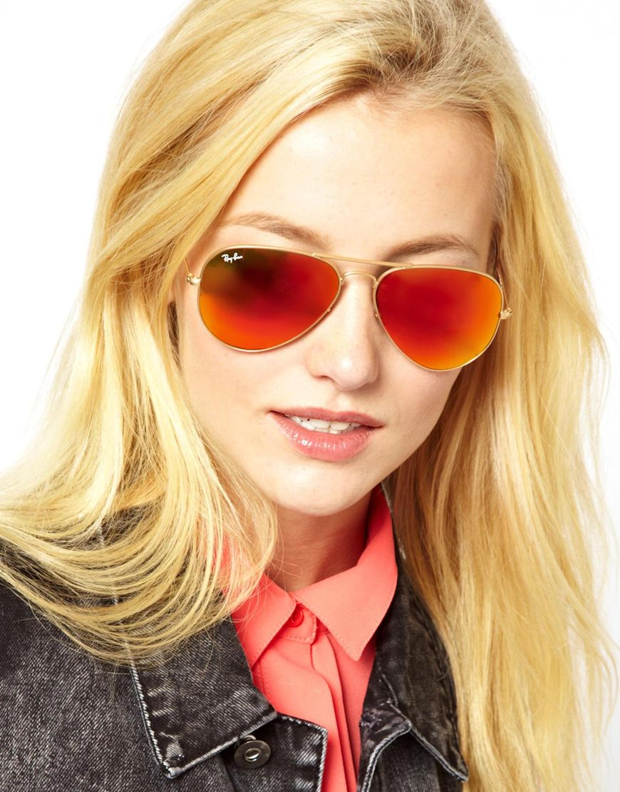 ray ban mirrored aviators on sale  gallery. women's mirrored sunglasses