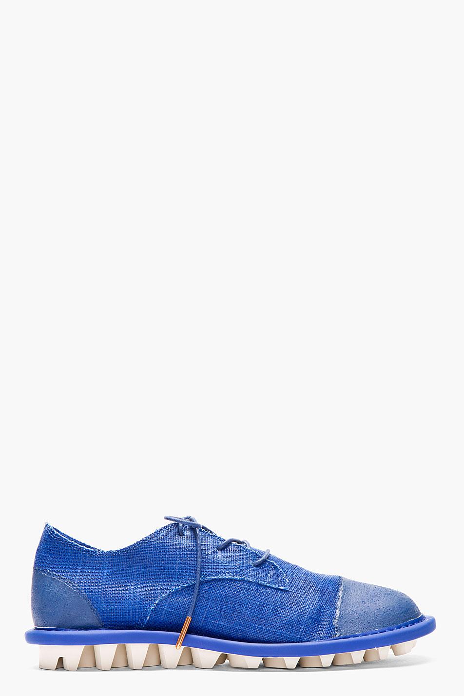 adidas by tom dixon royal blue canvas minimalist travelers