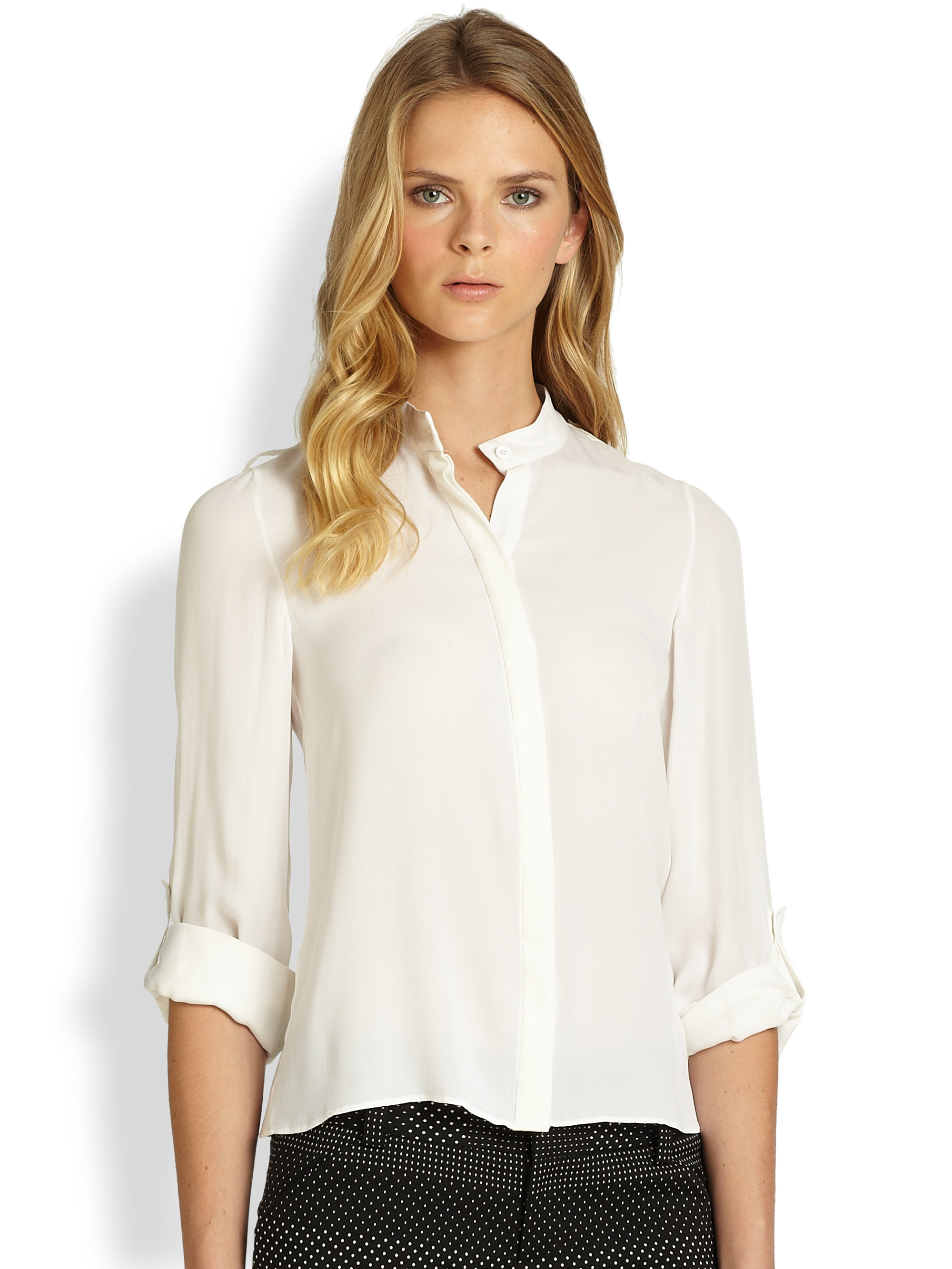 Find great deals on eBay for white blouse with collar. Shop with confidence.