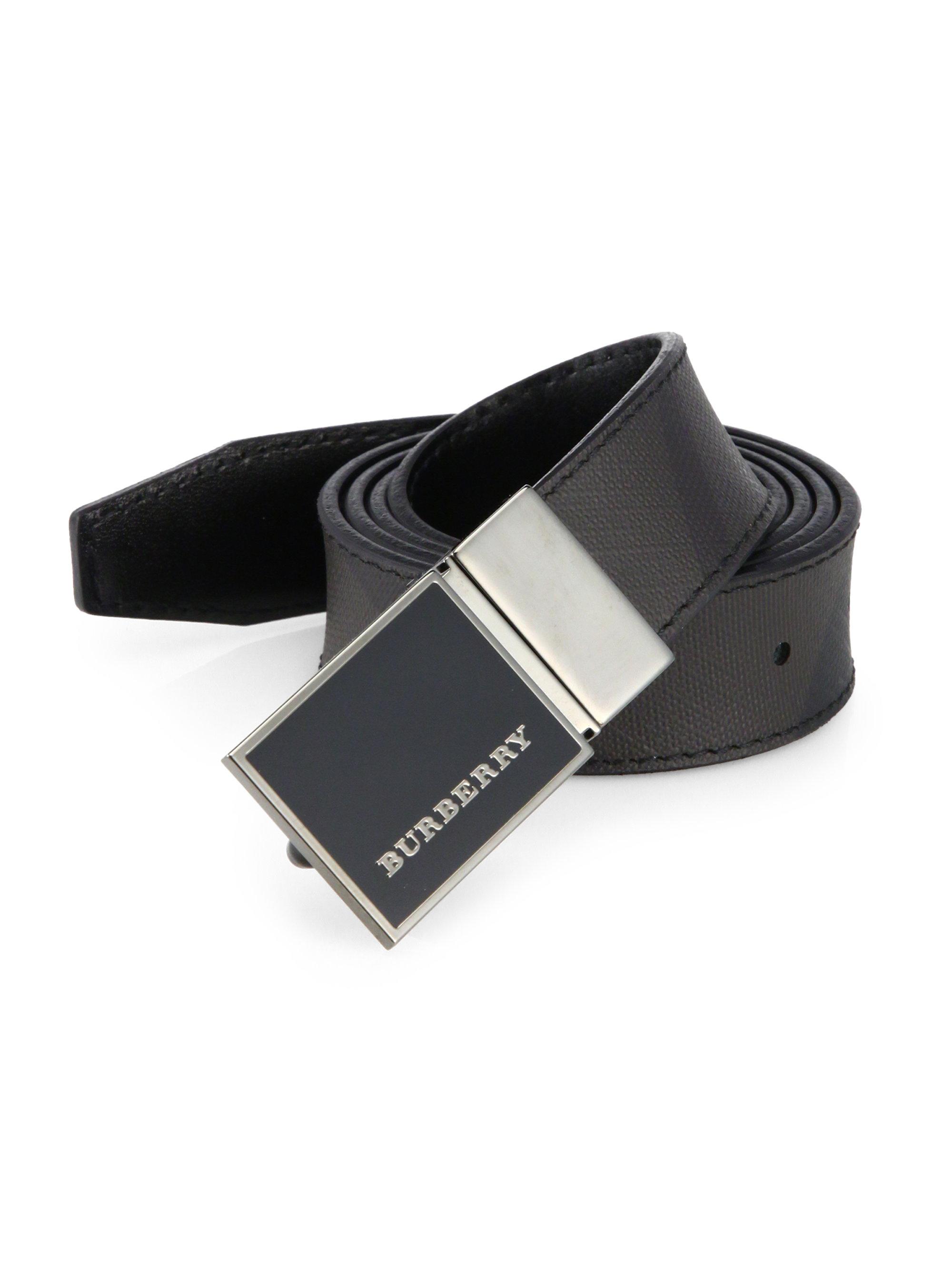 Plaque buckle belt - Black Burberry phZeNKedlU