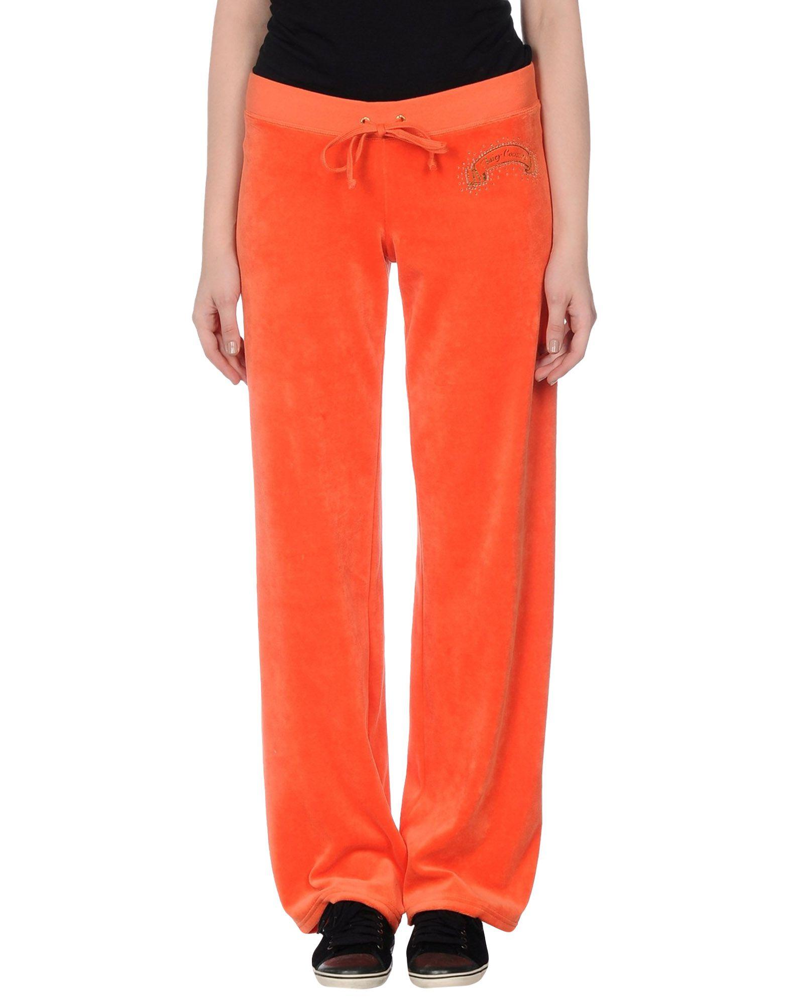 Model Balmain High Waist Warp Effect Knit Pants Orange Women Clothing WOMEN
