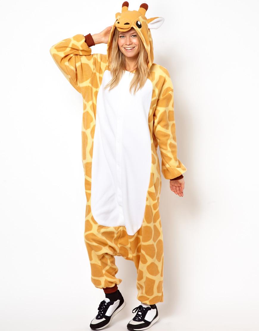 Lyst Kigu Giraffe Onesie In Yellow