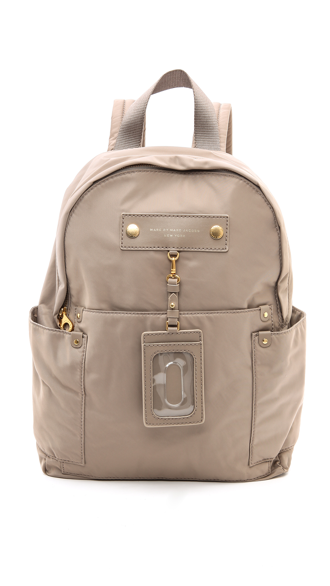 marc by marc jacobs preppy nylon backpack in beige cement. Black Bedroom Furniture Sets. Home Design Ideas
