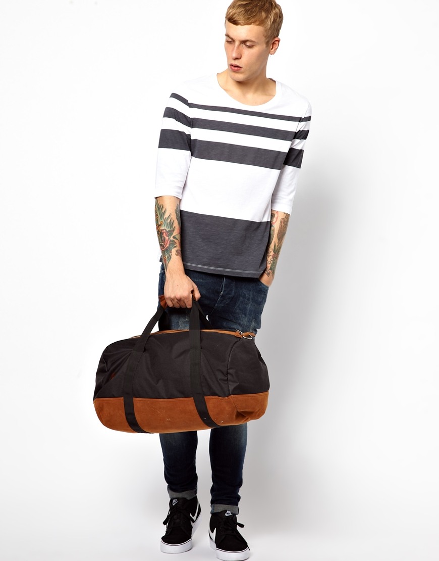 4fdae8d395 Mi-Pac Classic Barrel Bag in Black for Men - Lyst