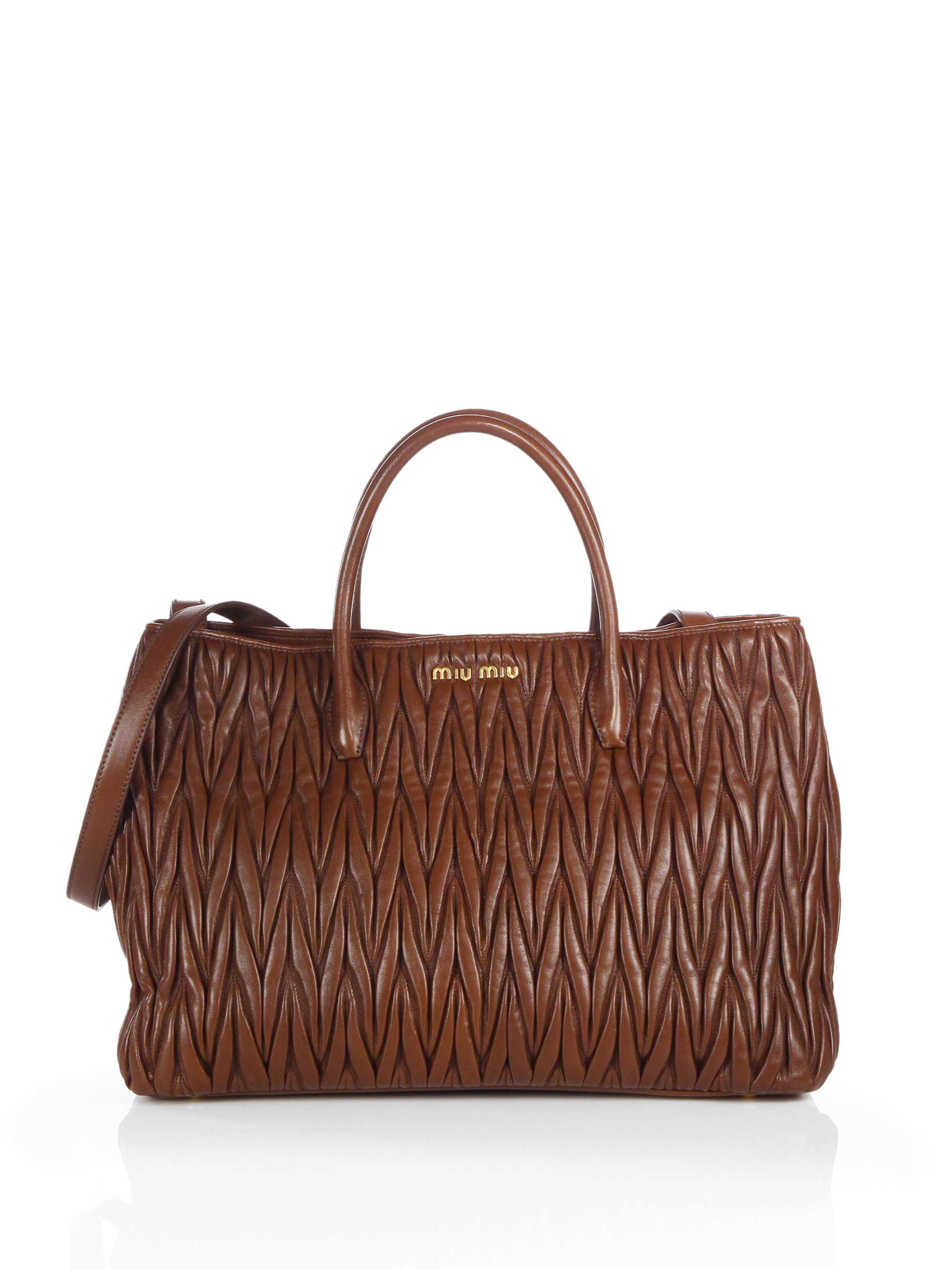 706588a79e Gallery. Previously sold at  Saks Fifth Avenue · Women s Miu ...