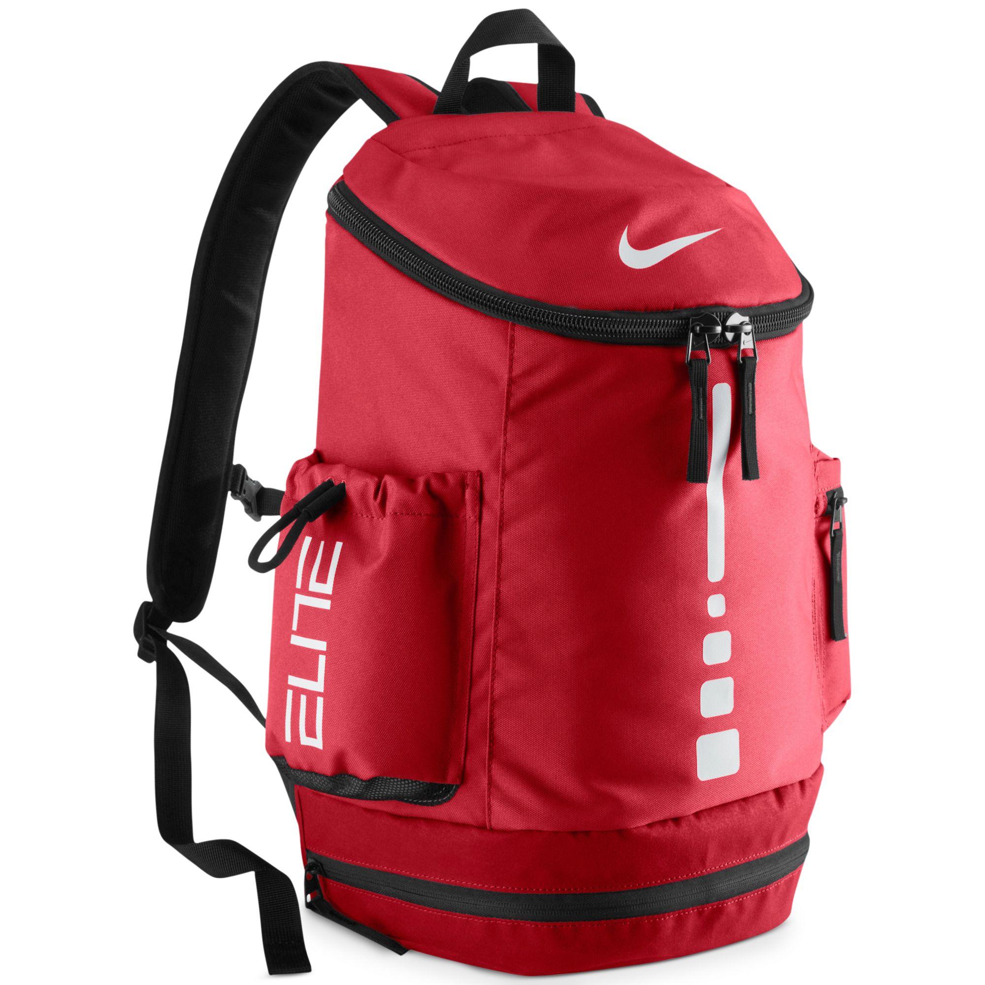 afcdd69de7 Lyst - Nike Hoops Elite Team Backpack in Red for Men