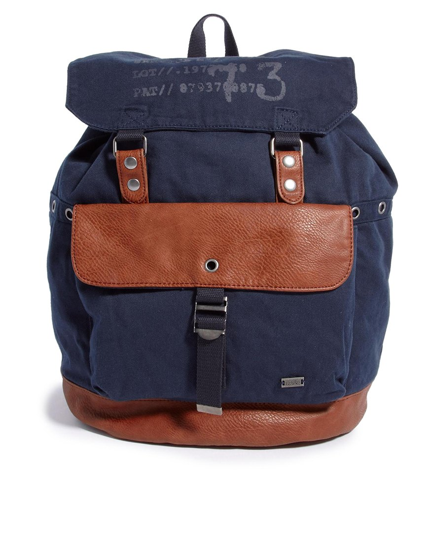 Lyst - Pepe jeans Backpack in Blue for Men