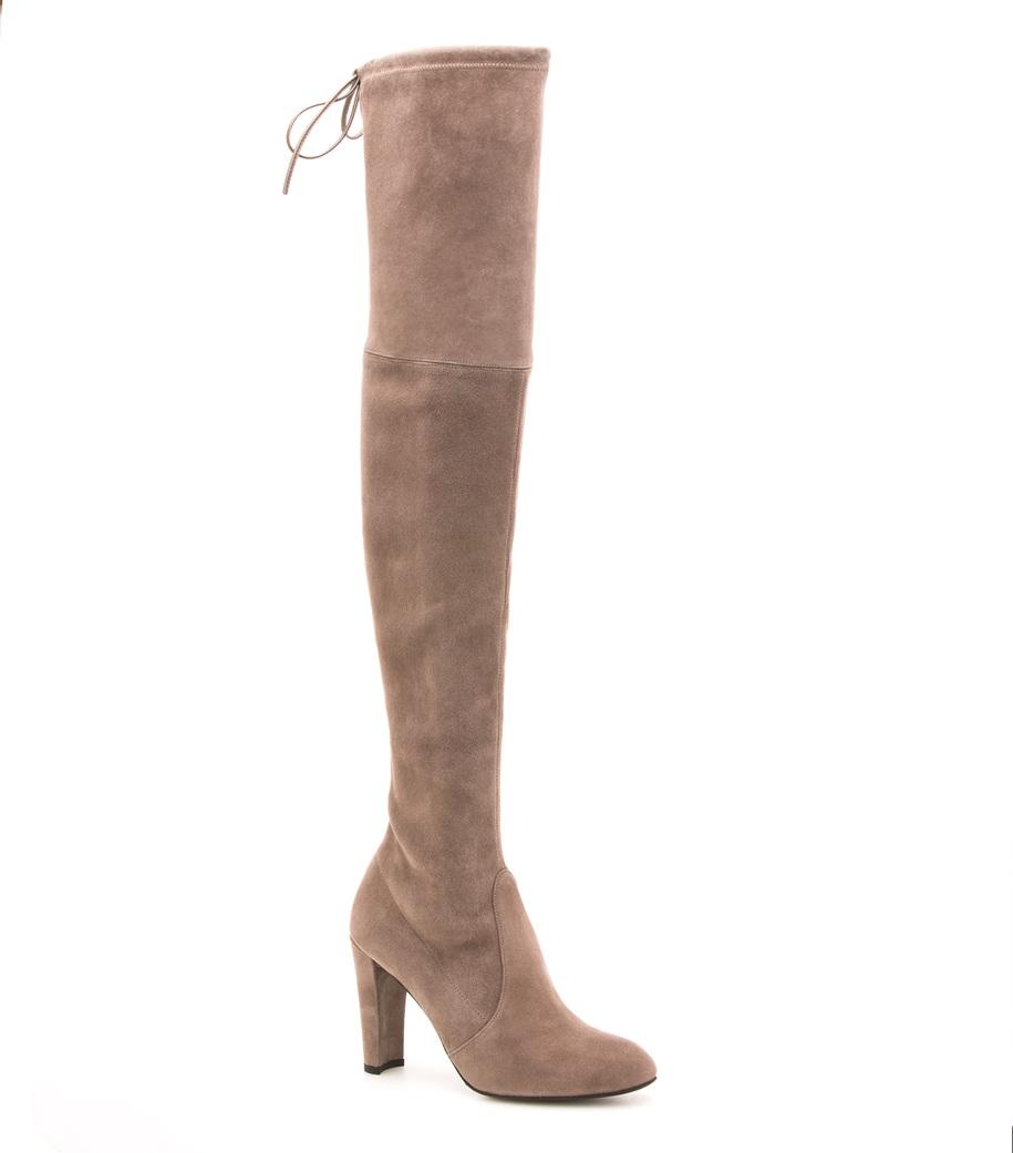 Celebrity Shoe Trend: Stuart Weitzman Highland Boots ...
