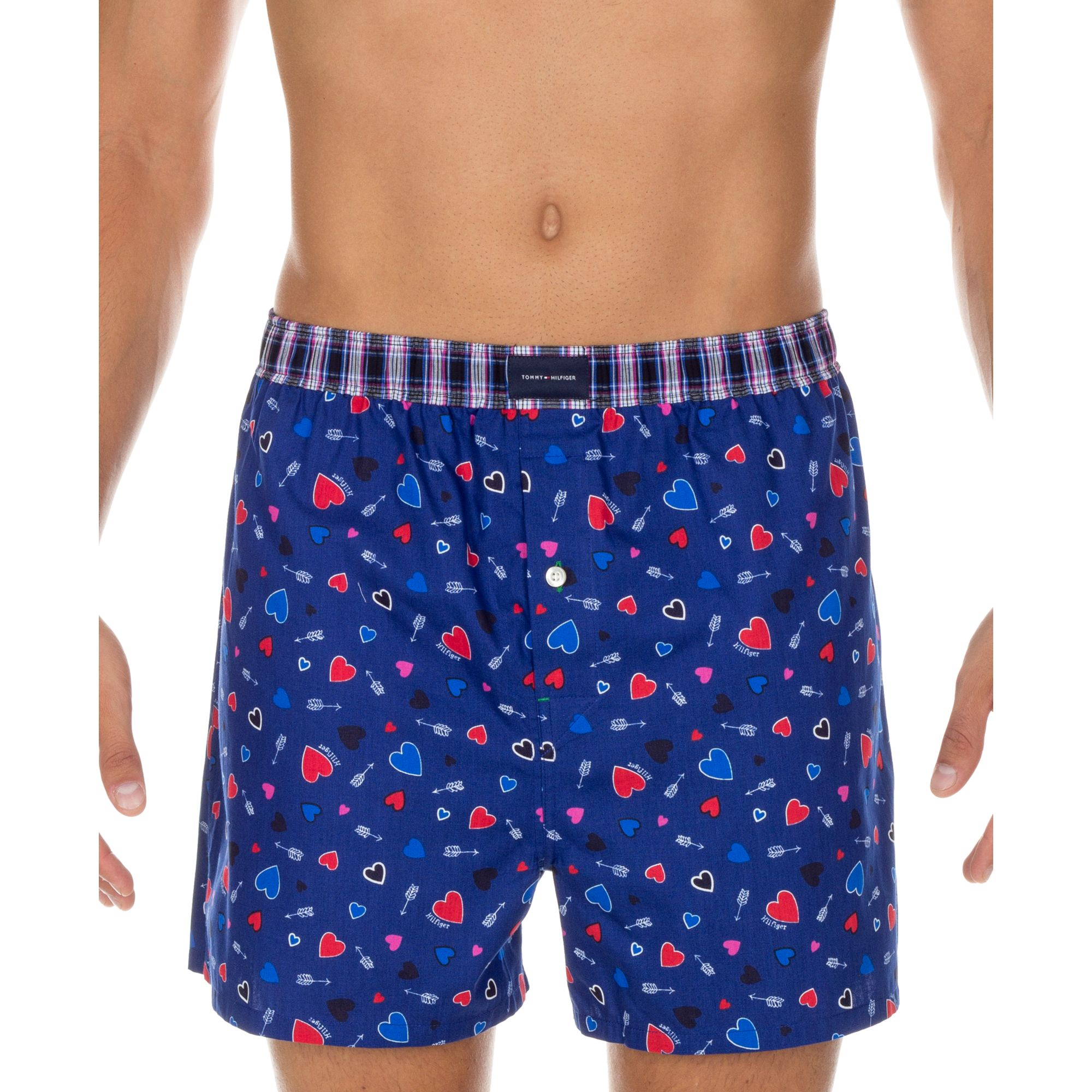 91f4021c90fe Clothing Tommy Hilfiger Mens Underwear Woven Boxers