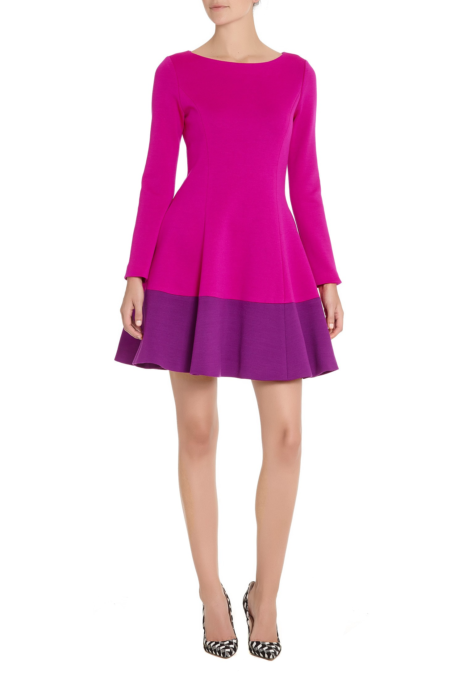 Lisa Perry Wow Dress in Purple (FUCHSIA / RED VIOLET)   Lyst