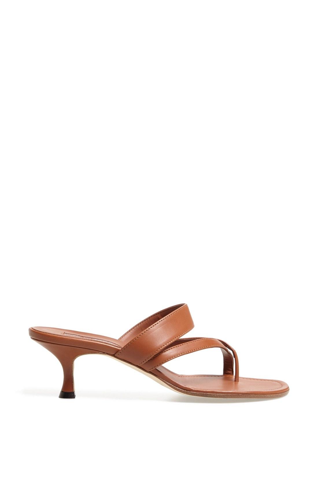 Kitten Heel Slide Sandals Is Heel