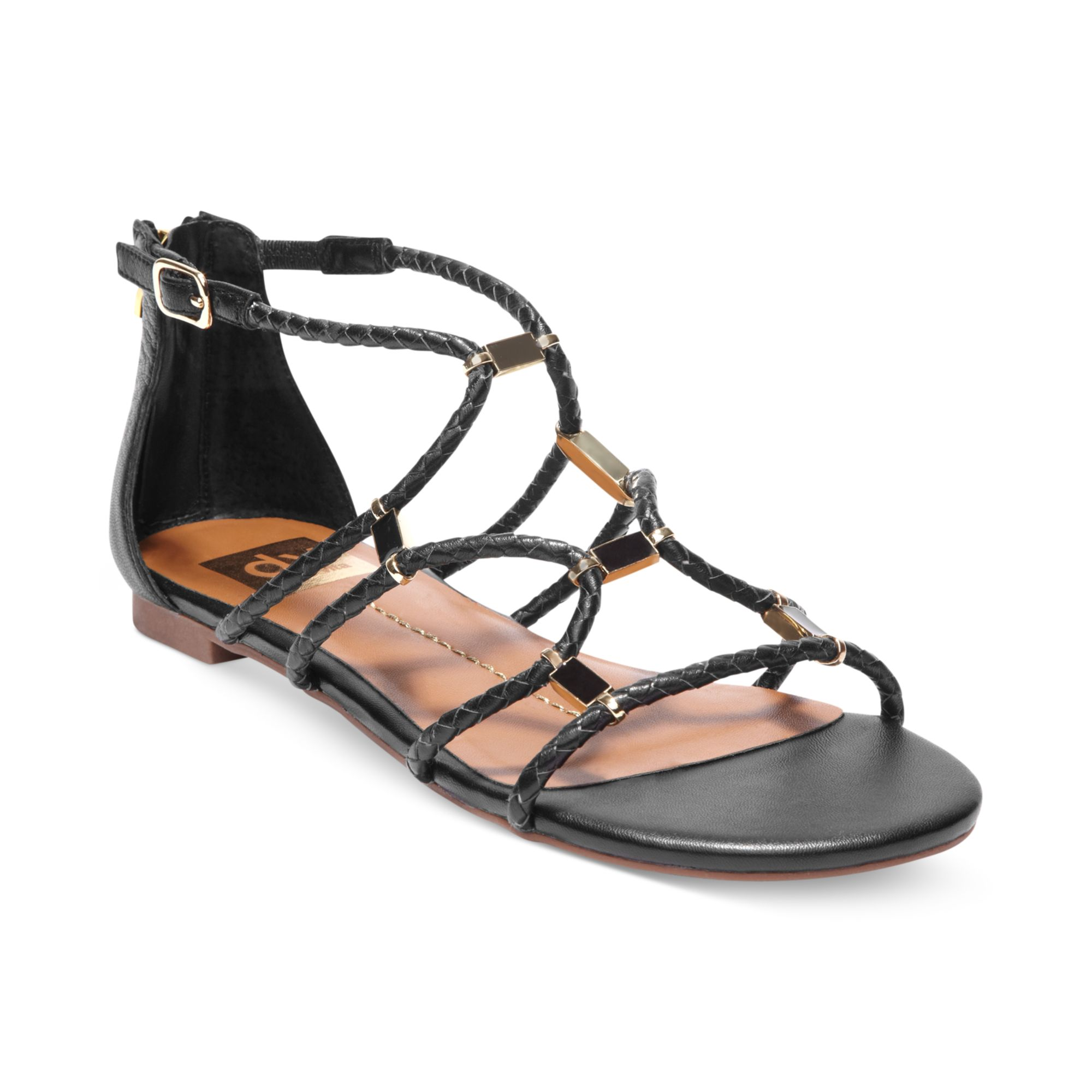Find black strappy flats at ShopStyle. Shop the latest collection of black strappy flats from the most popular stores - all in one place.