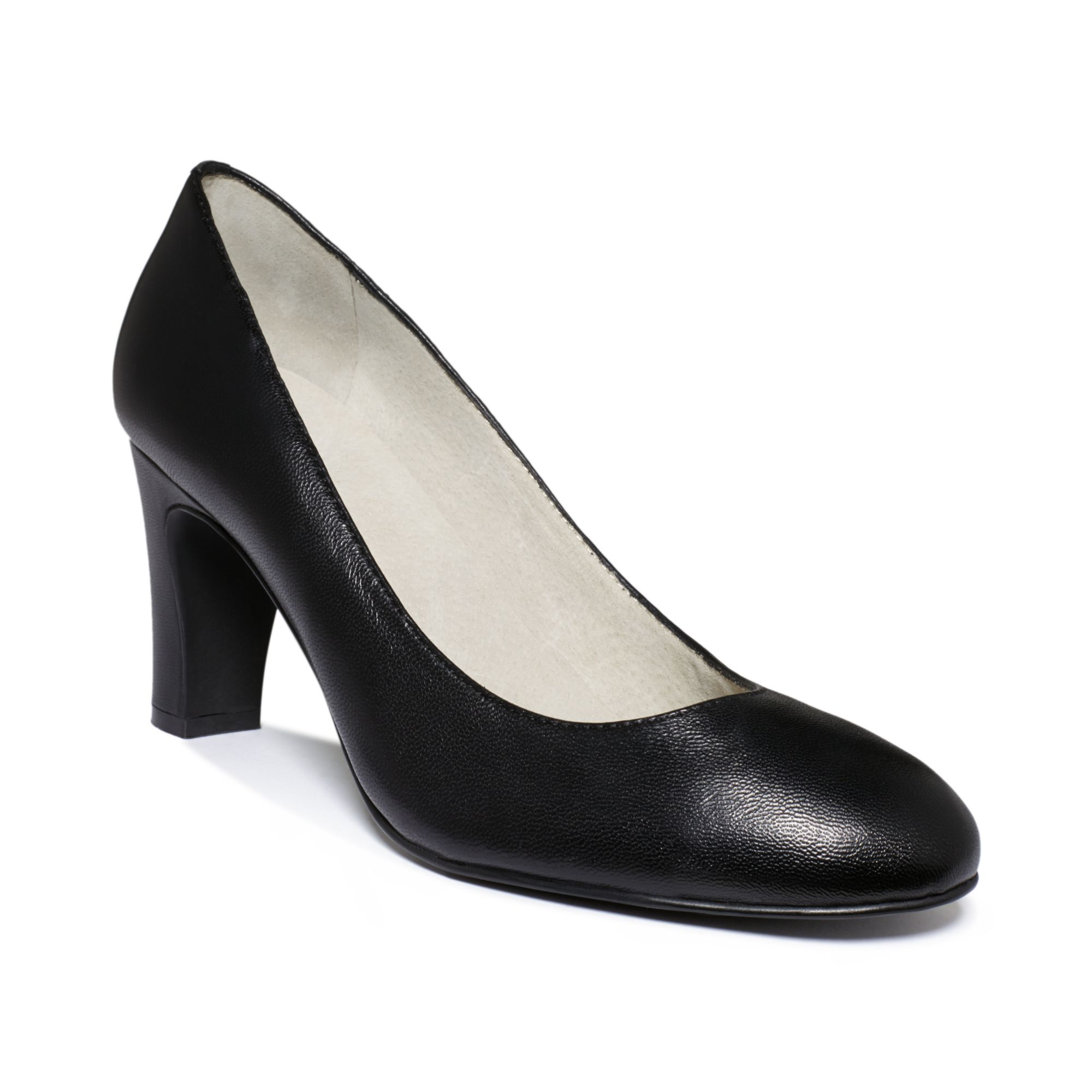 Tahari Womens Polly Mid Heel Pumps in Black | Lyst