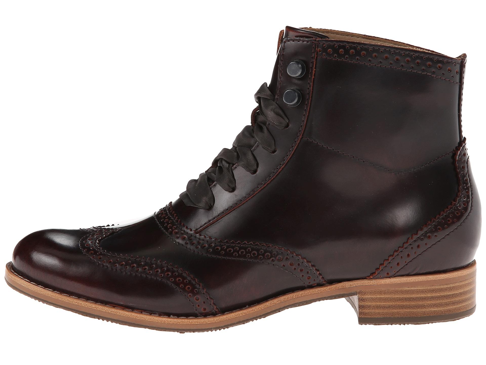 sebago claremont boot in brown lyst