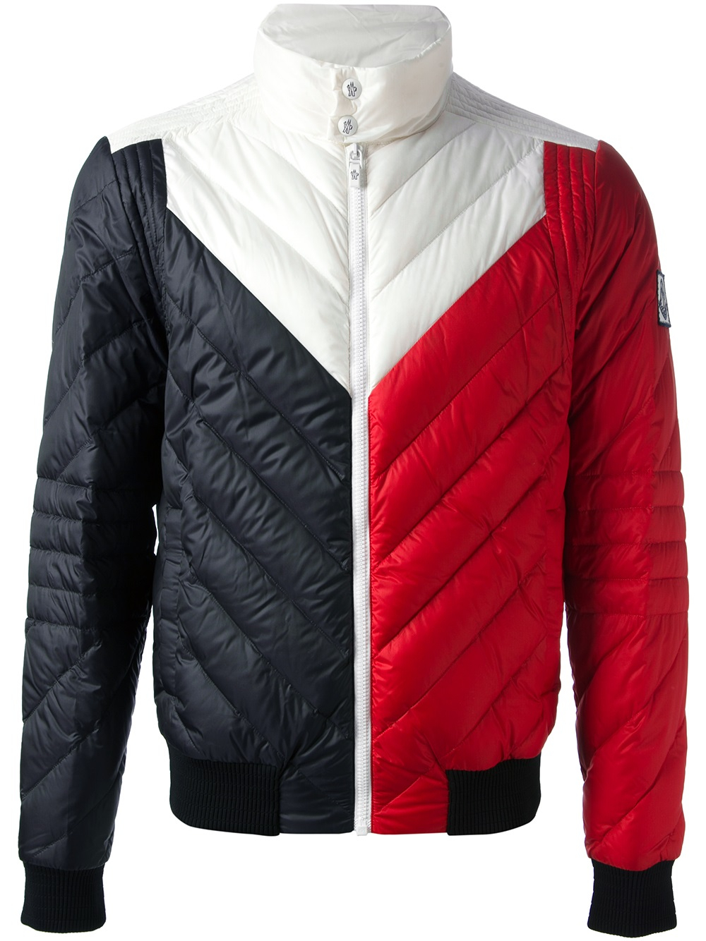 a182db695 Lyst - Moncler Gamme Bleu Quilted Jacket in Blue for Men