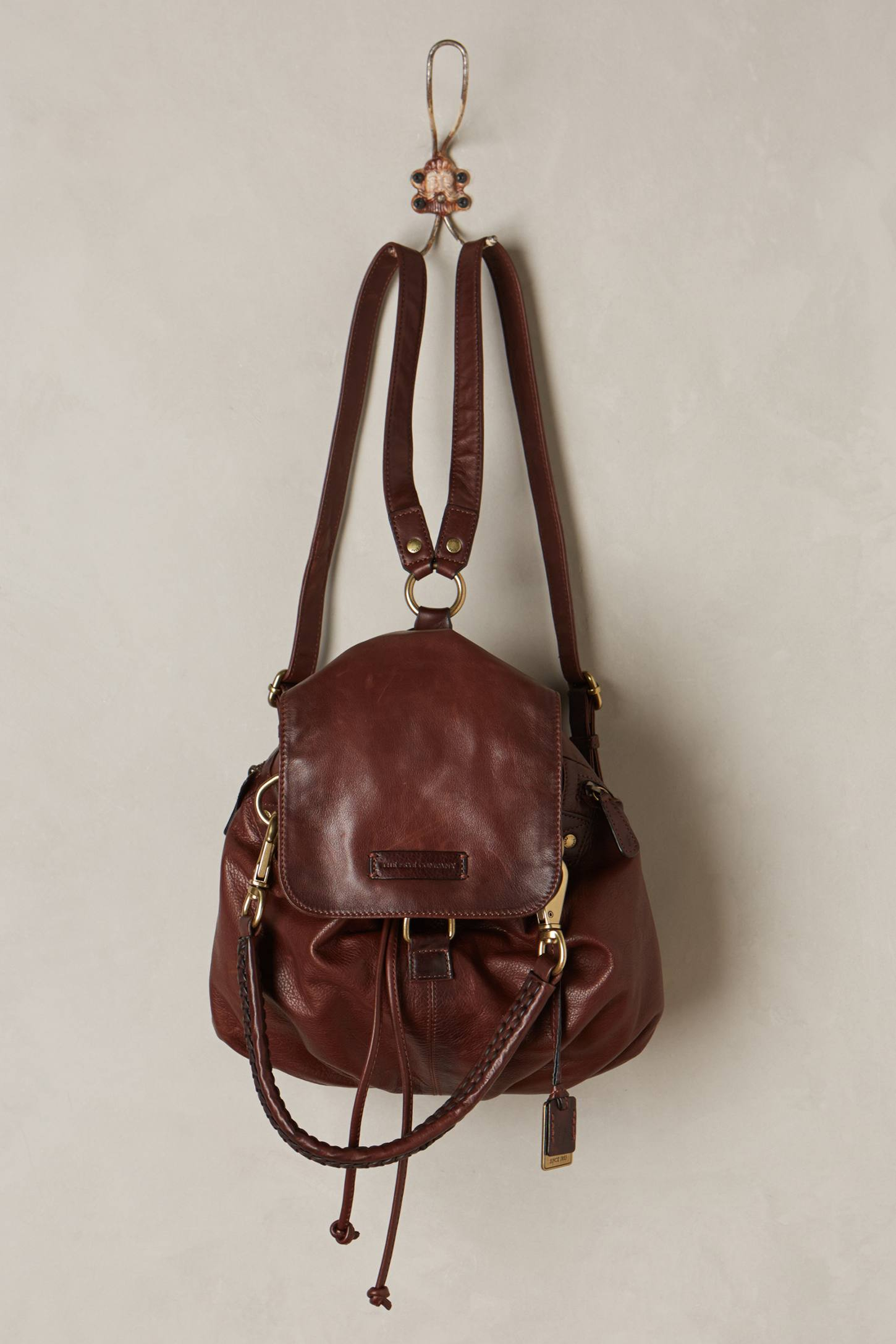 Frye Jenny Convertible Leather Backpack in Brown for Men | Lyst