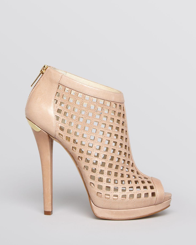 MICHAEL FI6ucG9Cqy JESSIE OPEN TOE BOOTIE - High heeled sandals - black 23LIWTWwTq