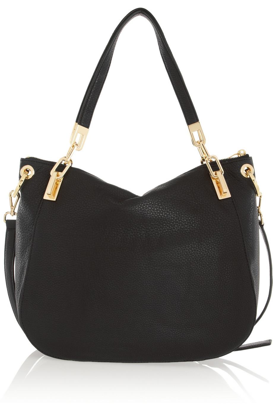 Michael Michael Kors Brooke Texturedleather Shoulder Bag