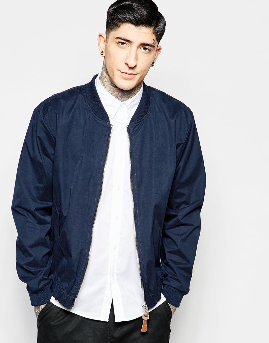Images of Blue Bomber Jacket - Fashion Trends and Models