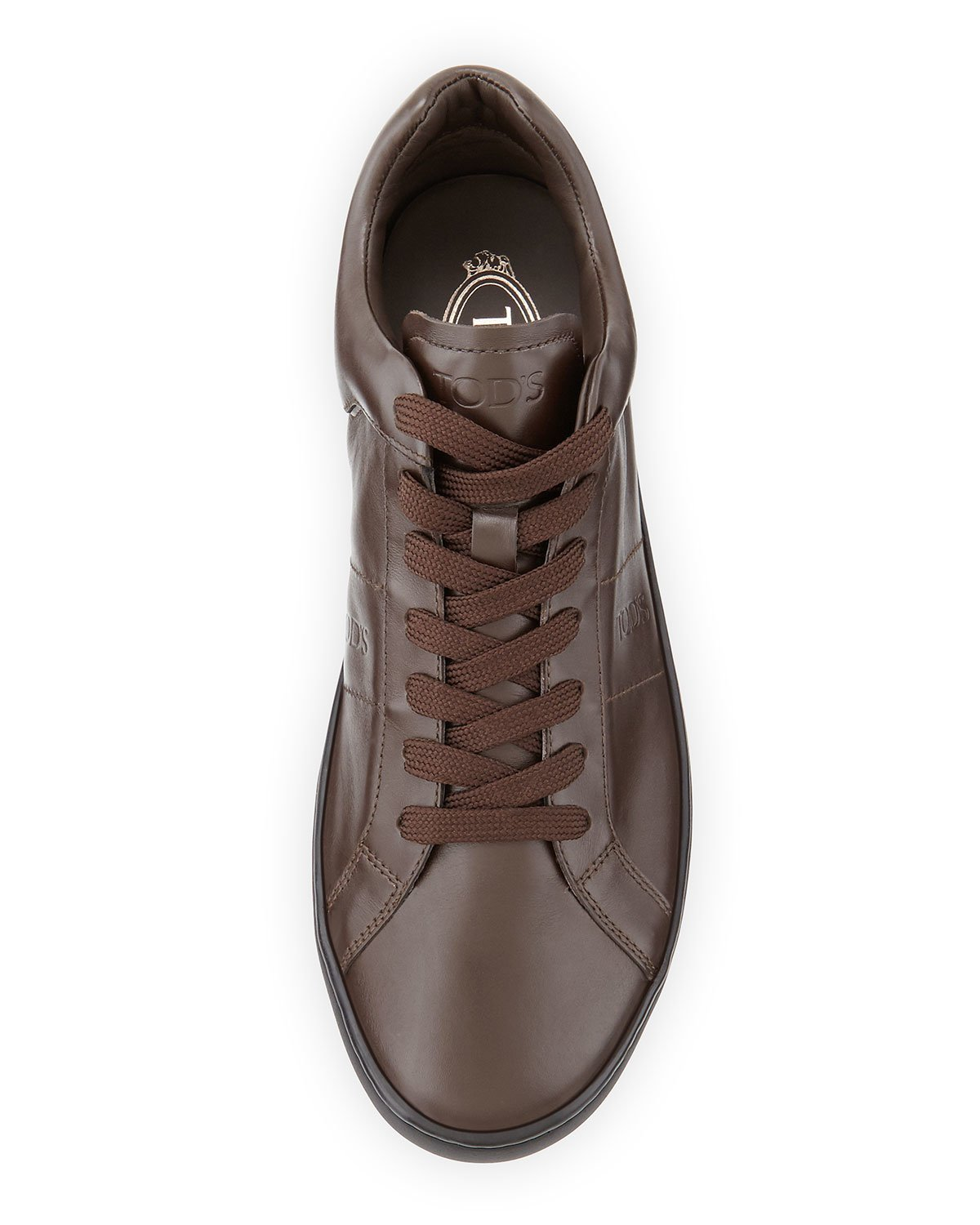 Brown leather sneakers Tod's XnpgHuW4