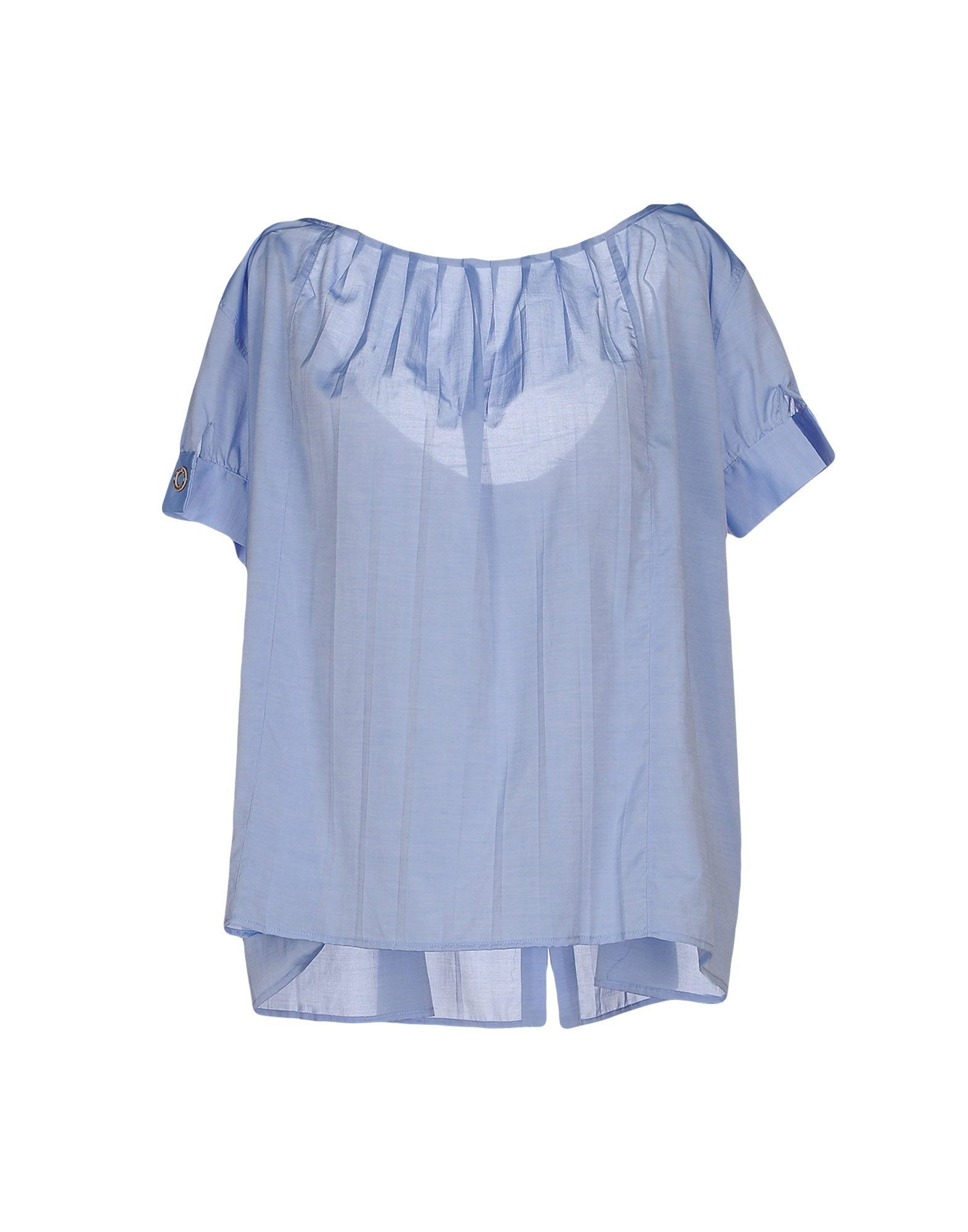 Manila grace shirt in blue lyst for Thrilla in manila shirt under armour